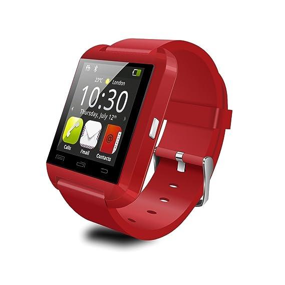 Amazon.com: U8 Upgraded Bluetooth 4.0 Smart Watch Phone ...