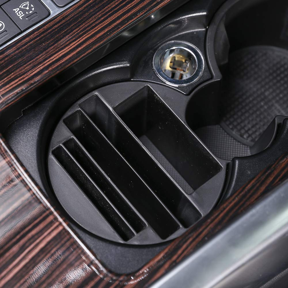 Central Console Cup Holder Multifunction Storage Box Phone Tray for Land Rover Range Rover Sport 2014-2017