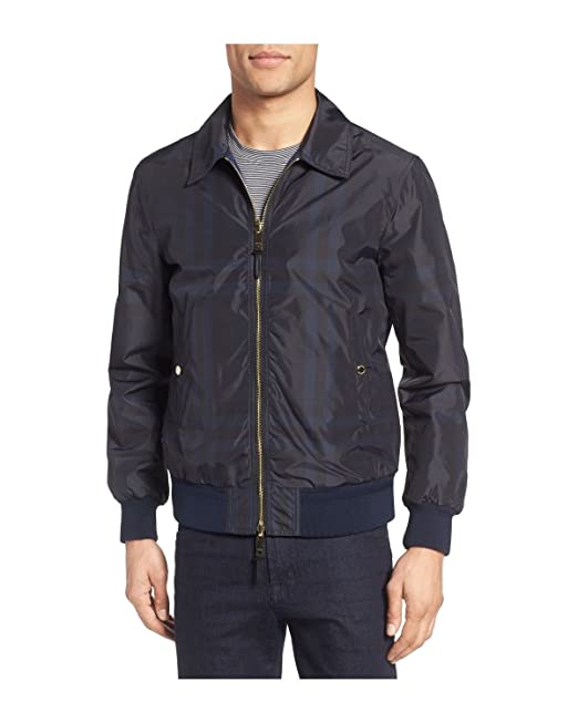 Burberry London - Chaqueta Bomber Reversible para Hombre ...