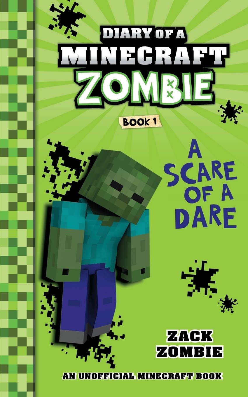 Diary of a Minecraft Zombie Book 9: A Scare of a Dare (9)  Amazon