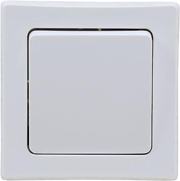 doppelter Lichtschalter Serie DELPHI 2-fach UP Serien-Schalter Doppelschalter