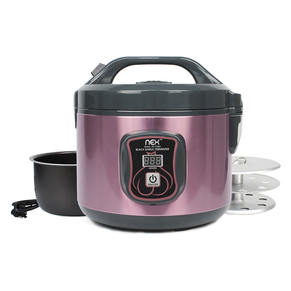 Amazon Com Nex Ne Kf20c Garlic Fermenter 3 L Purple Kitchen Dining