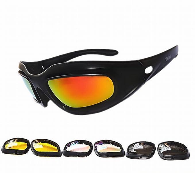 YL Outdoor Anti - Uv Sonnenbrille Schutzbrille Reitschuh Motorrad Sandstorm Sport Sonnenbrille,B,Brille