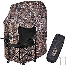 1 Man Fold Chair Ground Deer Hunting Blind Woods Camouflage Turkey Hunting Tent 1 Man Fold Chair