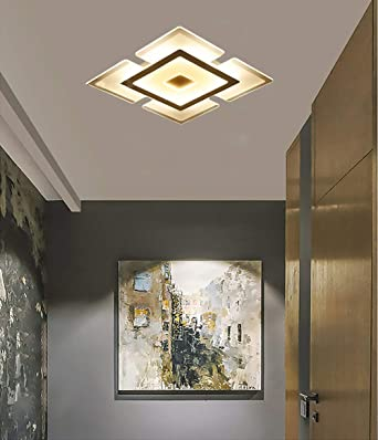 Moderna LED Luz de Techo 220V 12W,Creativa Plafón Lámpara Techo ...