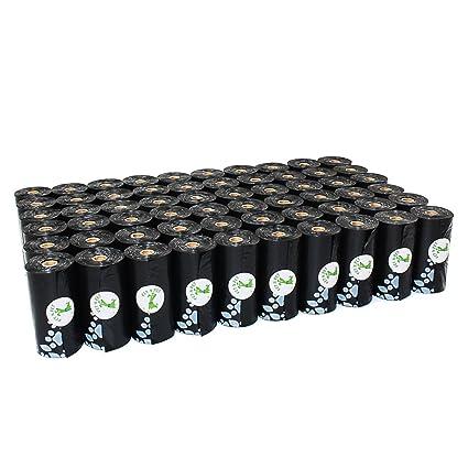 Amazon.com: Bolsas de residuo negras grandes sin perfume ...