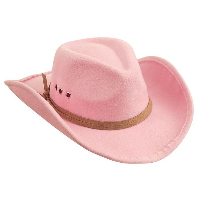 Amazon.com  Mud Pie Girls Pink Cowboy Hat (one size)  Baby 2125e9fc247