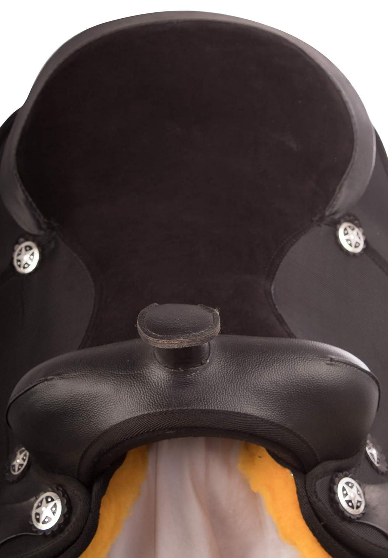 Amazon.com : AceRugs Arabian 14 15 16 17 18 Comfy Western Pleasure Trail Horse Saddle TACK Set : Sports & Outdoors