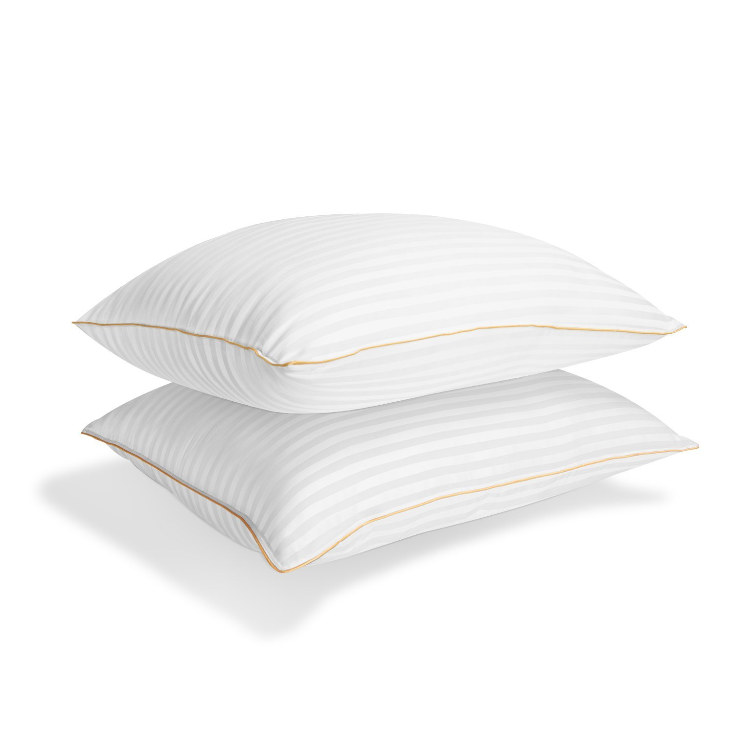 Italian Luxury Plush Gel Pillows 2100 Series (2-Pack) - Premium Quality Luxury Hotel Collection - Hypoallergenic & Dust Mite Resistant - Queen by Italian Luxury
