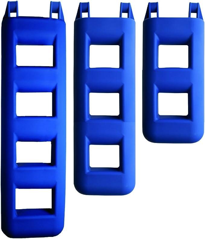 FOR WATER Forwater Parer Escalera para Barcos, 3 peldaños, Color Azul: Amazon.es: Deportes y aire libre