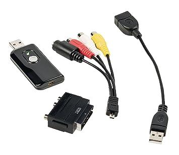 SUNLUXY MALL-ADAPTADOR CONVERTIDOR DE VÍDEO USB-TARJETA ...