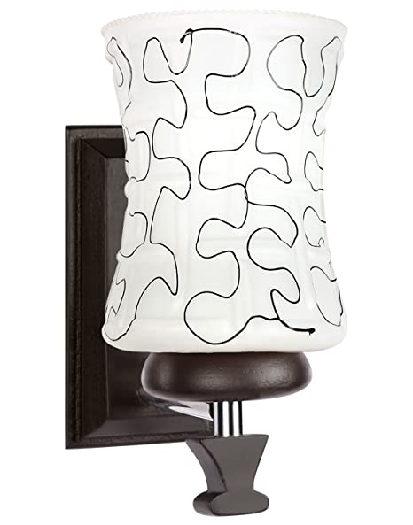 Amore Aadi_189_572_5W 40-Watt Wall Lamp (White) Wall Lamps & Sconces at amazon