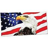 American eagle velour brazilian beach towel 30x60 inches