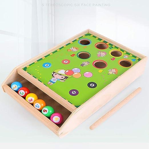 LCF Gngy Puzzle Mini billares pequeños Juguetes de Entrenamiento ...