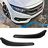 07 dodge charger front bumper - Front Bumper Lip Fits Universal Vehicles 24 Inch x 4 Inch | Ikon Style Black PU Front Lip Finisher Under Chin Spoiler Add On by IKON MOTORSPORTS