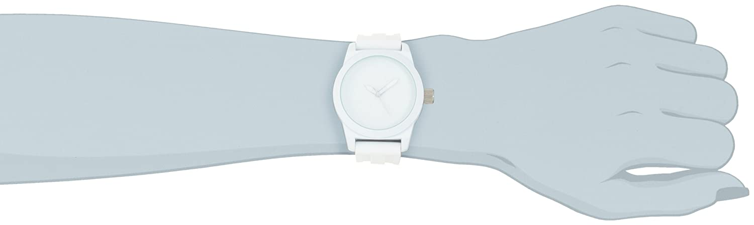 Amazon.com: Kenneth Cole REACTION Womens RK2224 Round Analog White Dial Watch: Kenneth Cole: Watches