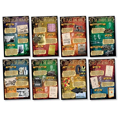 NORTH STAR TEACHER RESOURCE Inventions 1810-1965 Bulletin Board Set