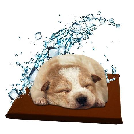 Onlyesh Cojín de Enfriamiento Cojín Refrescante Estera de Enfriamiento Manta de Refrigeración Almohadilla Refrigerante Fría para Perro Gato