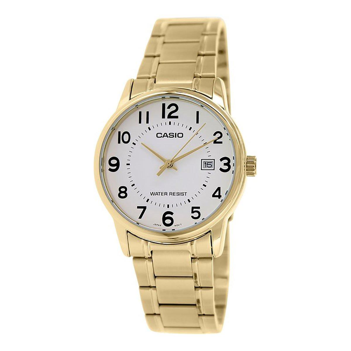 Casio Women's LTPV002G-7B Gold Stainless-Steel Quartz Watch