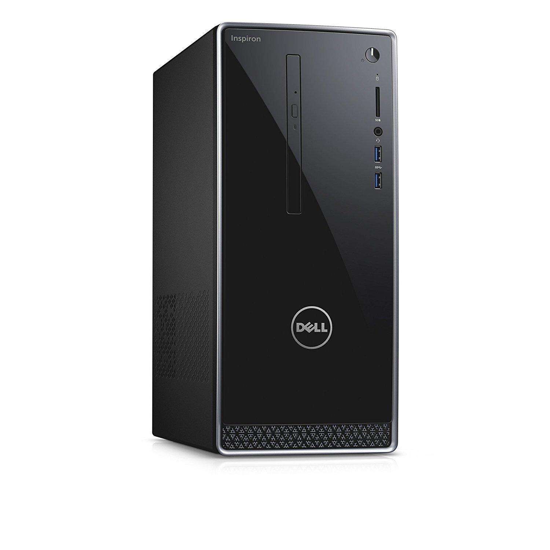 Dell Inspiron 3668 Desktop, Intel Core i7-7700, 16GB Memory, 2TB HDD, DVD/RW, NVIDIA GeForce GT 730, WIFI, WIndows 10 Pro