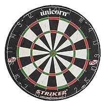 Unicorn Dartboard Striker Bristle - Black/White/Red/Green by Unicorn