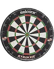 Unicorn Striker Dartboard - Black/white/Red/Green