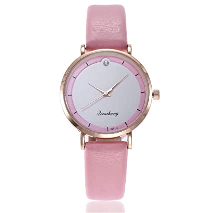 Women Watches Casual Leather Quartz Wrist Watches Delicate Ladies Dress Watch Reloj Mujer Clock Montre(