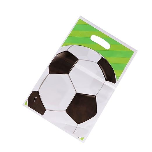 STOBOK 20 Piezas de balones de fútbol Bolsas de Regalo para Dulces ...