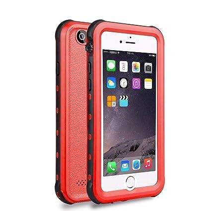 Amazon.com: Rojo prueba de pimienta para iPhone 6 Carcasa ...