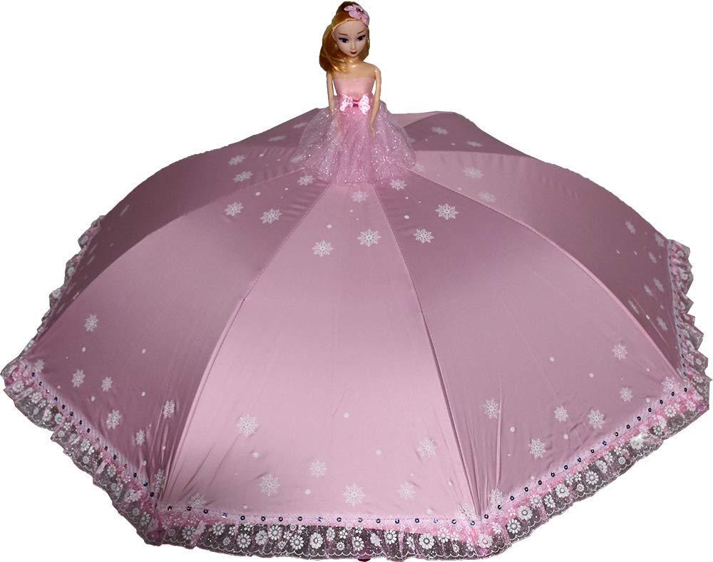 3D doll umbrella for girls