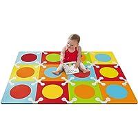 Skip Hop Playspot Foam Floor Tiles, Bold Brights