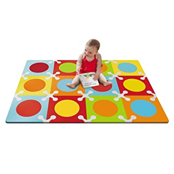 Skip Hop Sk 245024 Tapis Dalles Mousse Bb 1 4 X 1m Amazon Fr