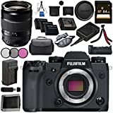 Fujifilm X-H1 Mirrorless Digital Camera (Body Only) 16568731 XF 18-135mm f/3.5-5.6 R LM OIS WR Lens 1642853 VPB-XH1 Vertical Power Booster Grip Bundle