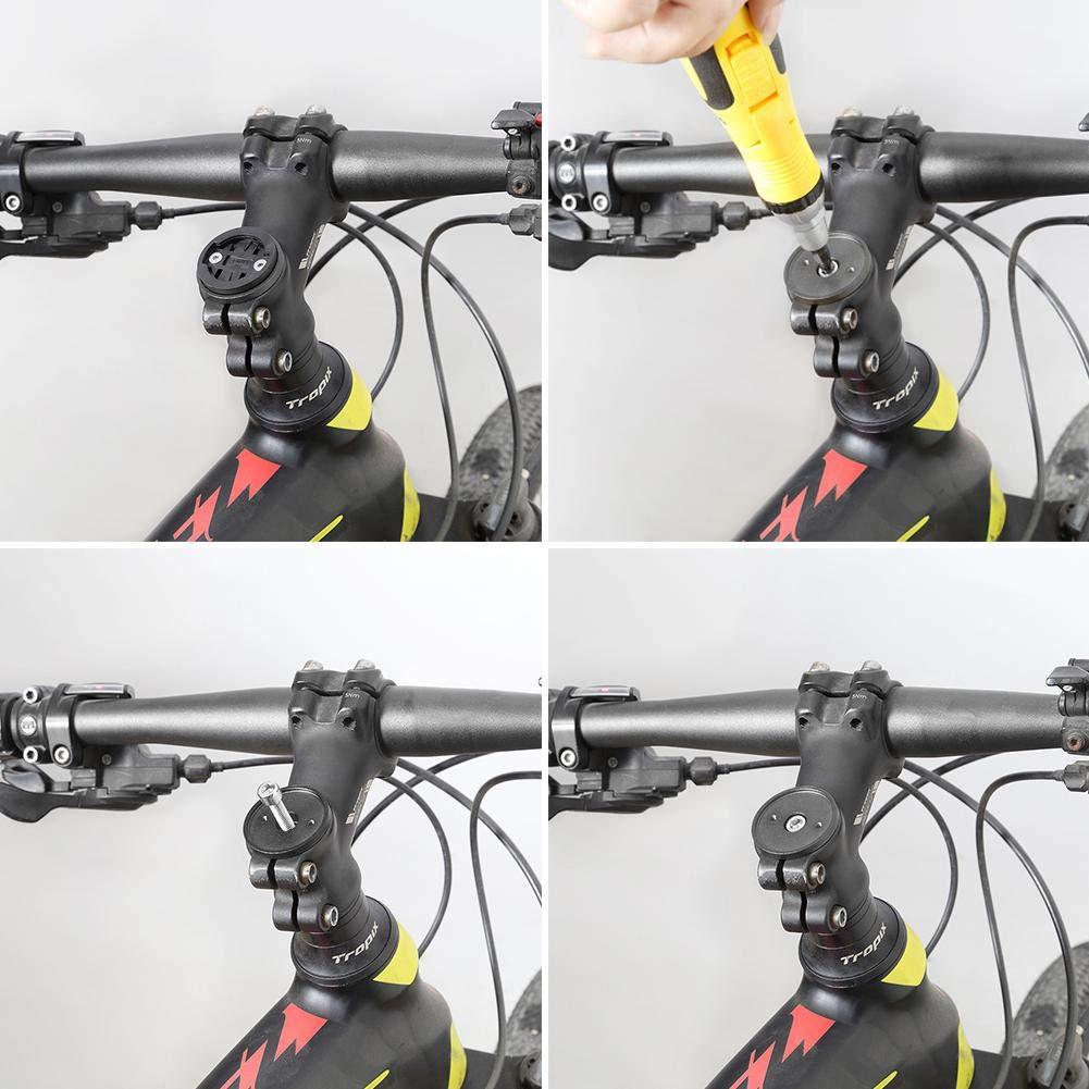 Supporto per Manubrio Dire-wolves Supporto Anteriore per Bicicletta per Garmin Edge Supporto Anteriore Basso per Garmin Edge