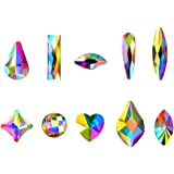 Massive Beads Mixed Flat Back Crystal Rhinestones Gems for 3D Nail Art Phone DIY Crafts (MIX SHAPE 2)