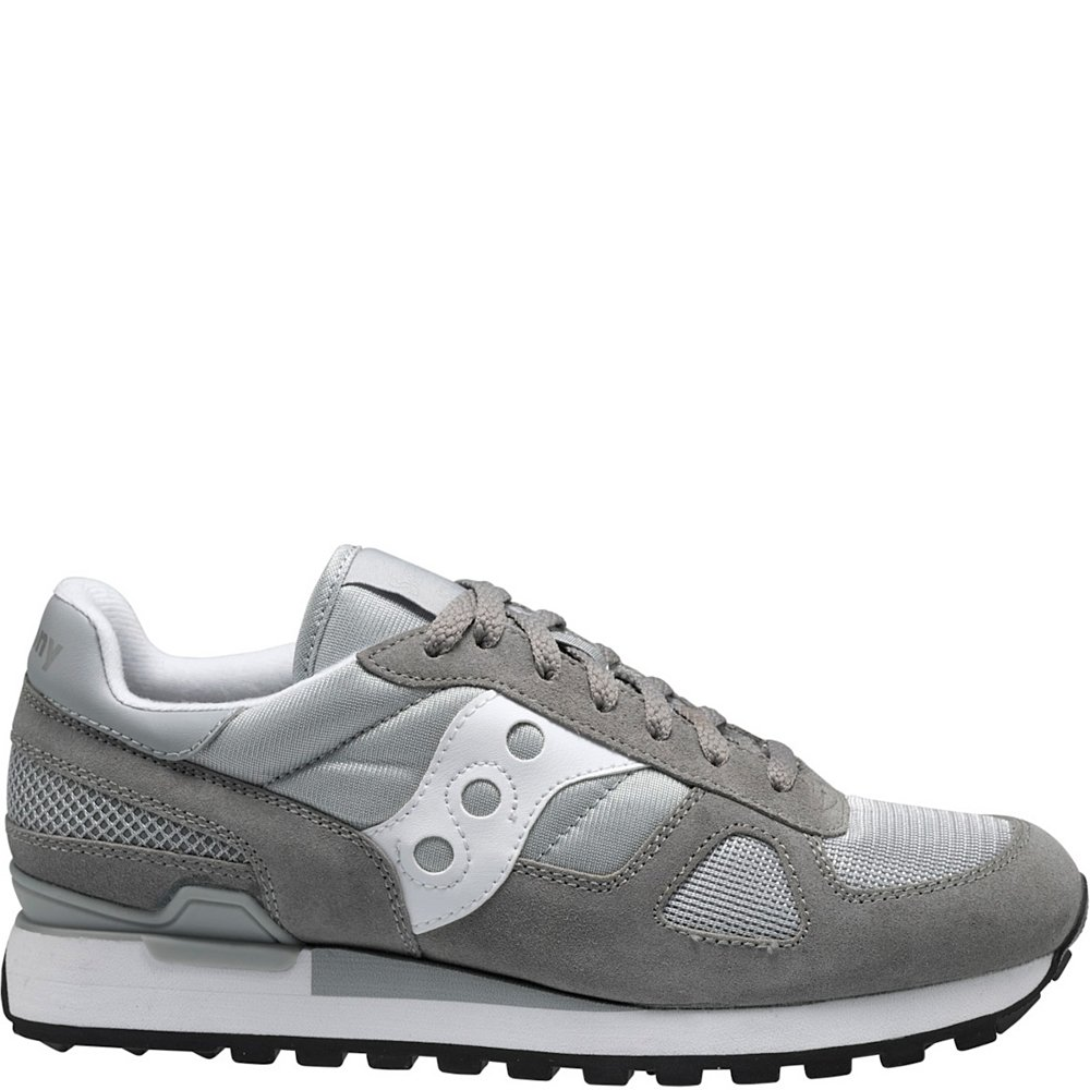 Saucony Originals Men's Shadow Original Sneaker B071ZQSFWQ 10 D(M) US|Gray / White