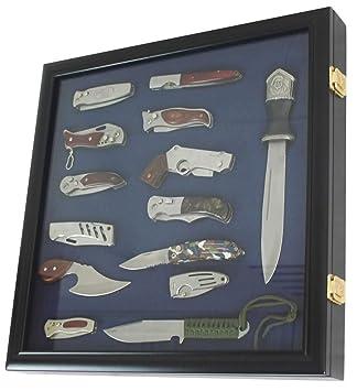 Amazon.com: Caja de sombra de bolsillo para cuchillo, puerta ...