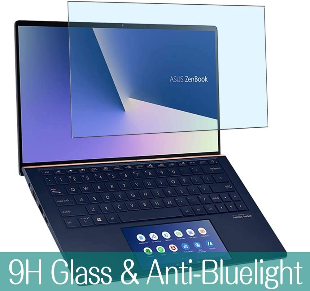 Synvy Anti Blue Light Tempered Glass Screen Protector for ASUS ZenBook Edition 30 UX334FL 13.3 Visible Area 9H Protective Screen Film Protectors