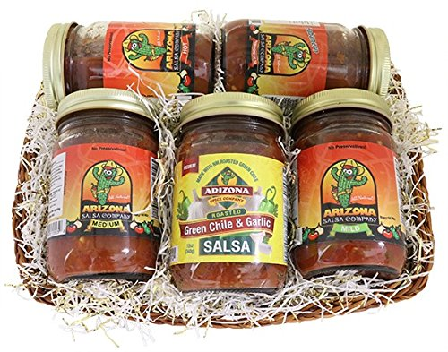 Arizona Five Salsa Gift Basket