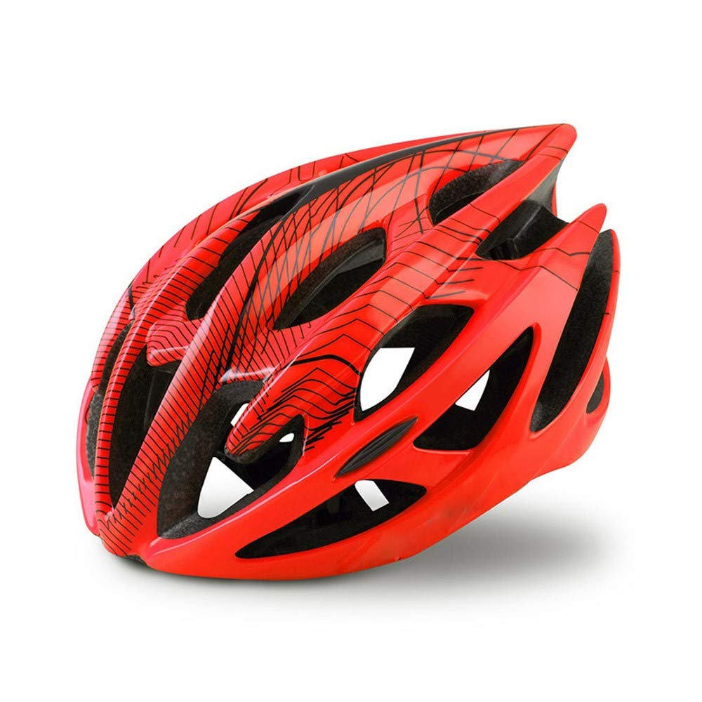 HJOMX Helmet Bicycle Helmet Bike Helmet Superlight Breathable Cycling Safety Hat Bicycle Helmets,orange,S M