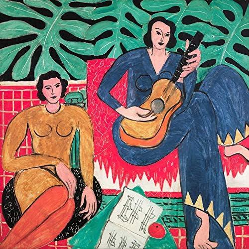 llv Matisse Aufkleber Wandbild Ölgemälde, A., 40 x 40 cm