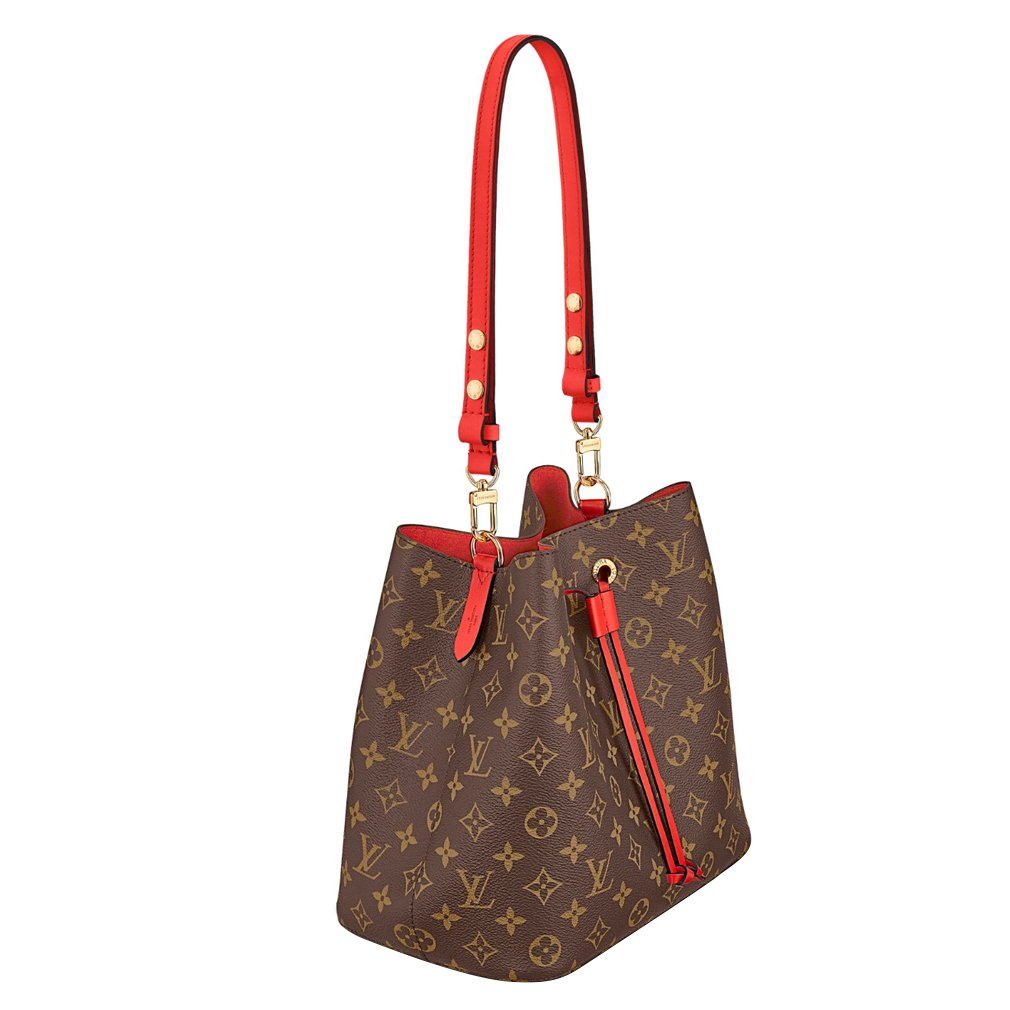 d102e8383d8 Louis Vuitton Monogram Canvas Neonoe Adjustable Strap Handbag Article M44021  Made in France  Handbags  Amazon.com