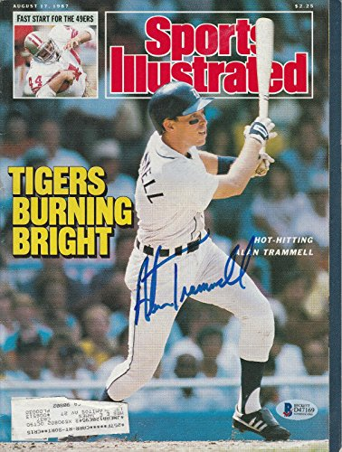 Alan Trammell Signed Auto'd Sports Illustrated Magazine Bas Coa Detroit Tigers C - Beckett Authentication