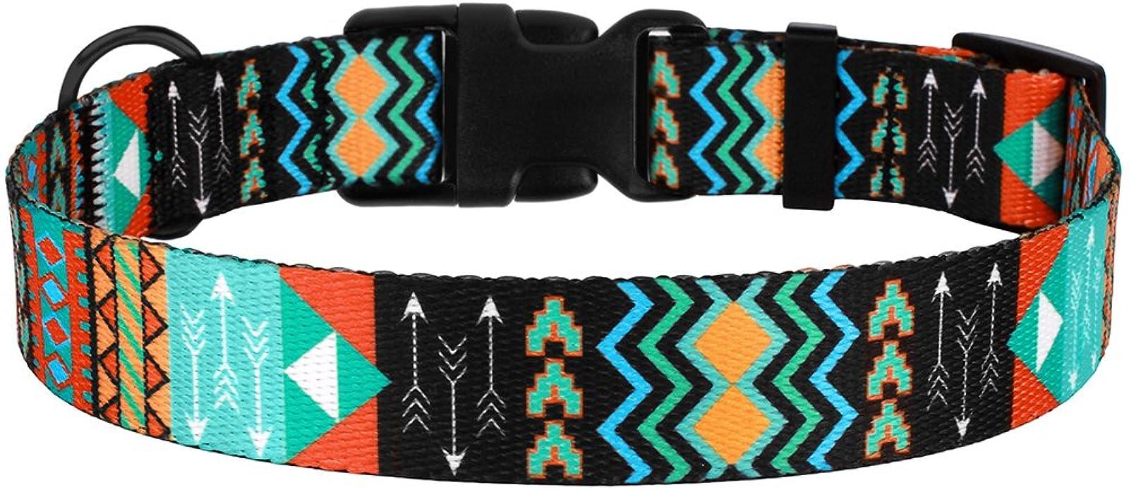 CollarDirect Nylon Dog Collar with Buckle Tribal - 4