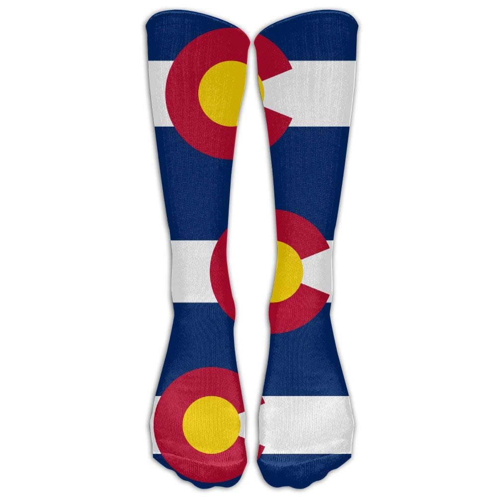 Unisex Flag Of Colorado Knee High Long Socks Athletic Sports Tube Stockings For Running,Football,Soccer Sale Shower Curtain