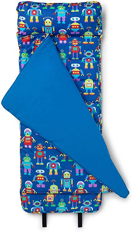wildkin original nap mat with pillow for toddler boys and girls measures 50 x 20 x 1 5 inches ideal for daycare and preschool mom s choice award