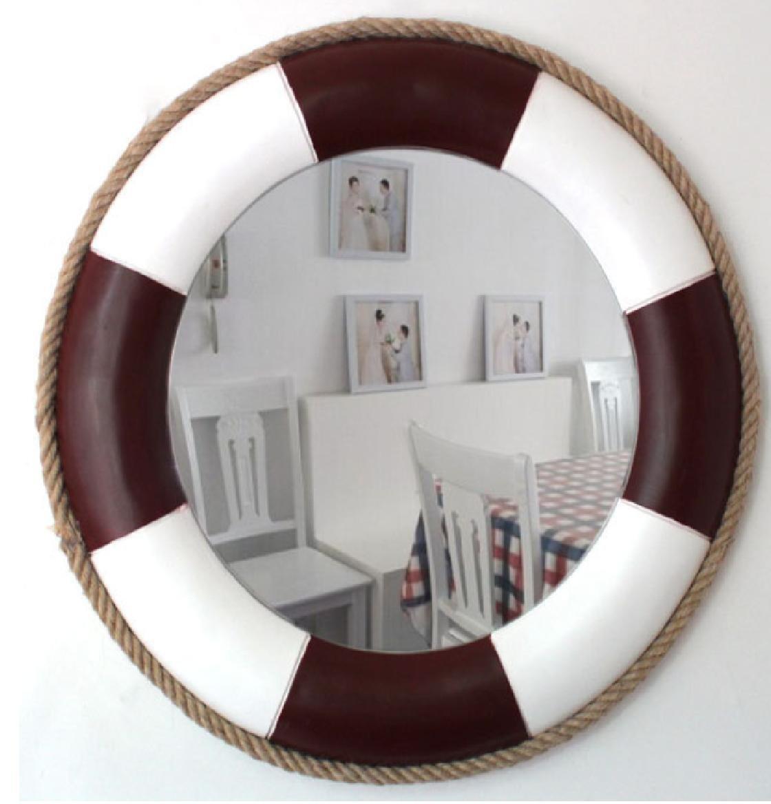 Xiuxiangianju Europäische Stil Mittelmeer-Stil Badezimmer Spiegel ...