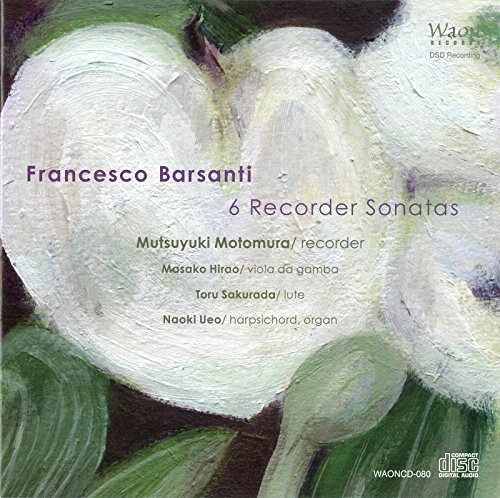 Recorder Sonata in B-Flat Major, Op. 1, No. 6: III. Sostenuto
