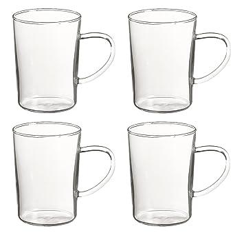 Teetassen Glas randwyck teetasse glas teeglas sonja 0 4 l 4 stk amazon de
