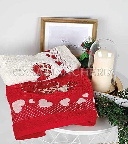 NO Brand PAR Toallas Navidad Bordado
